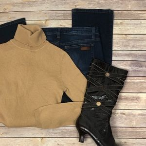 BCBG MaxAzria Cashmere & Silk blend sweater